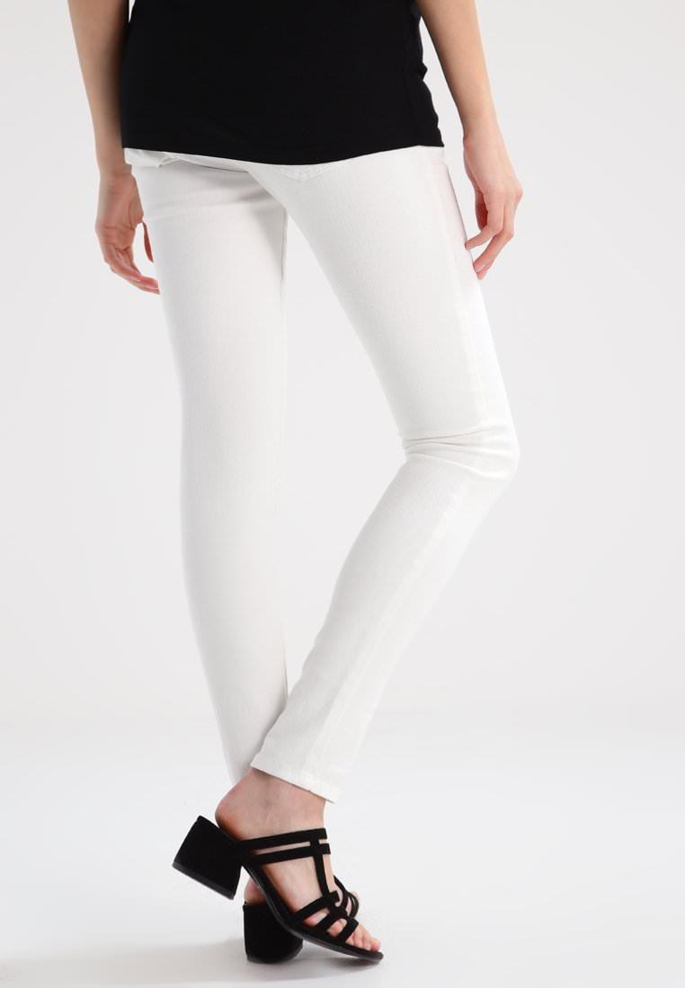 98848d44cbda Pantaloni premaman bianchi comodi e 100% Made in italy a 45€