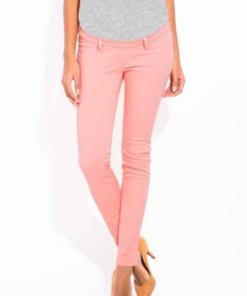 Pantalone per la gravidanza rosa