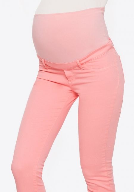 50a45d087fcf Pantalone per la gravidanza rosa elasticizzato 100% Made in Italy