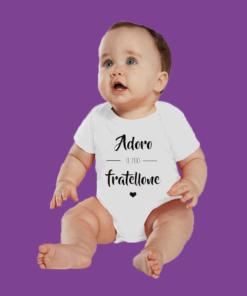 body neonato divertente fratellone