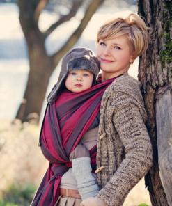 fascia porta bebè rigida