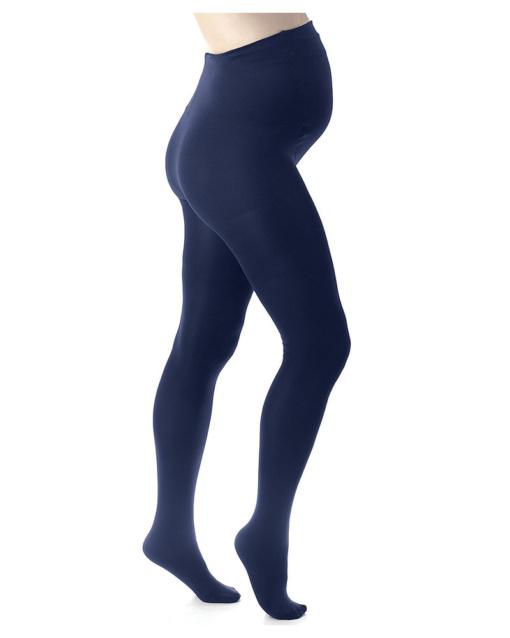 collant premaman blu