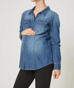 camicia premaman di jeans