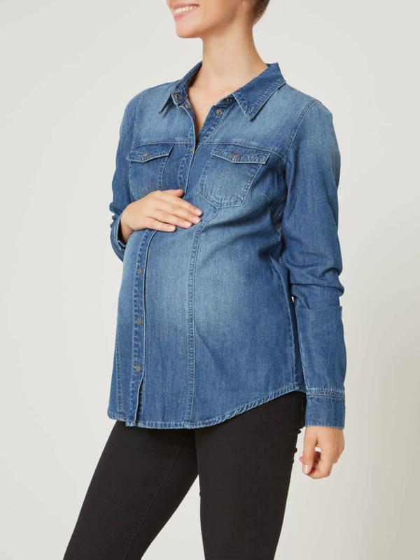 competitive price 3722c 32f94 Camicia premaman di jeans Carol