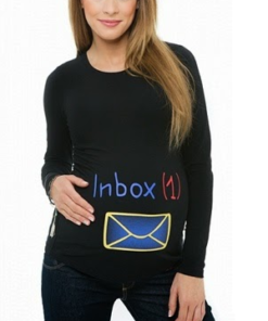 T-shirt divertenti per gravidanza